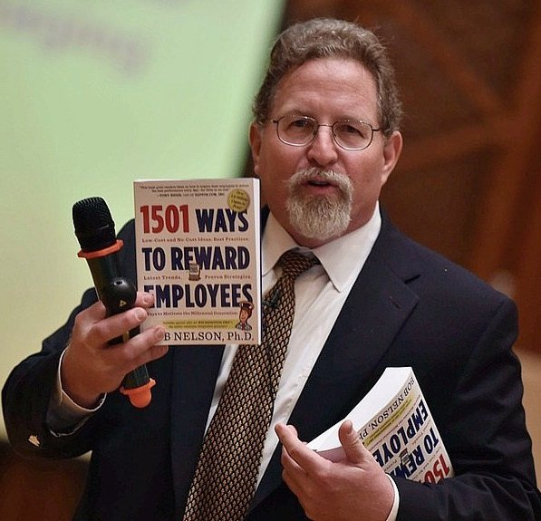 Dr. Bob Nelson is the author of 1,001 Ways to Engage Employees and 1,501 Ways to Reward Employees and the President of Nelson Motivation Inc., a management training and consulting company that specializes in helping organizations improve management practices, programs and systems.